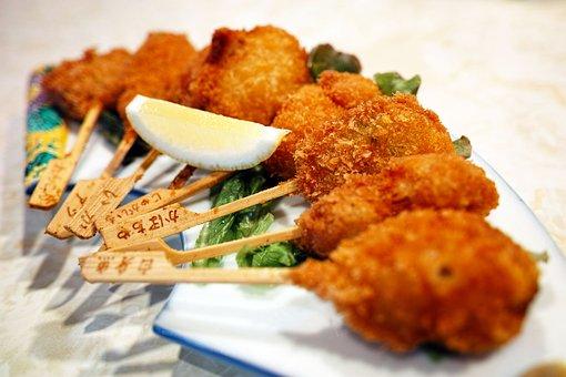 Restaurant, Fried, Food, Meat, Asian Cuisine