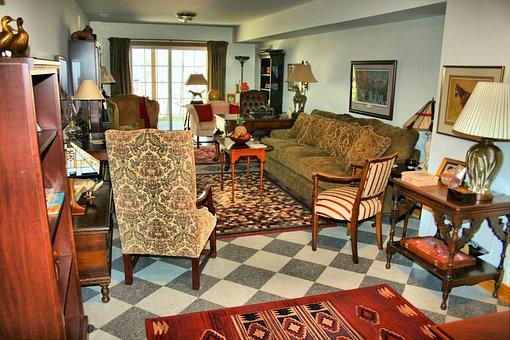 Family Room, Living Room, Salon, Home, Family, Room