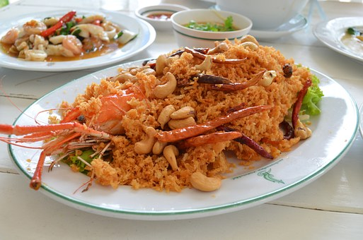 Shrimp, Cuisine, Thailand, Meal, Asian, Seafood, Spicy