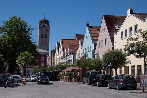 Townhouses, Erding, Altbayerisch, Duke City, Long Line