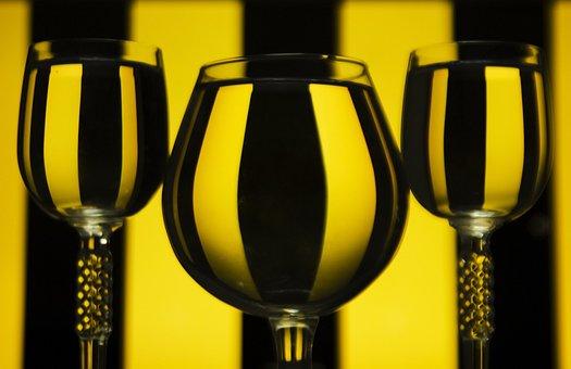 Drinks, Glasses, Cups, Filled, Wine, Liquids, Beverages