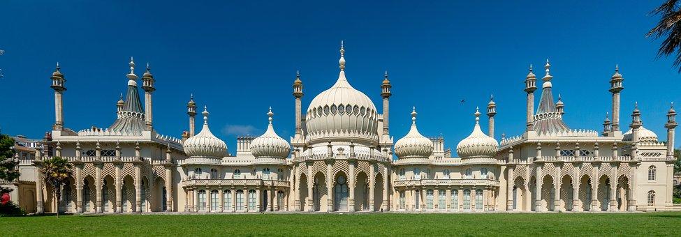 Palace, Royal Pavilion, Building, Brighton Pavilion