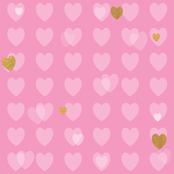 Love, Background, Wallpaper, Abstract, Hearts, Red