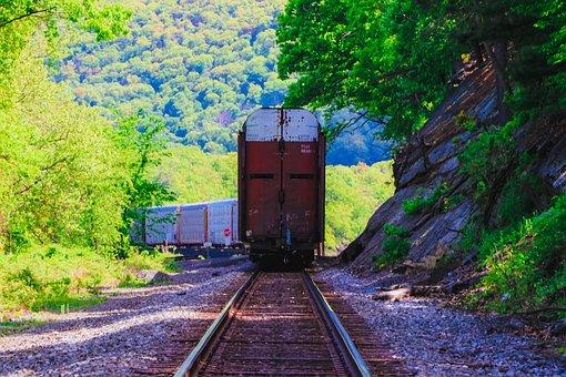 Train, Trains, Train Tracks, Tracks, Railroad