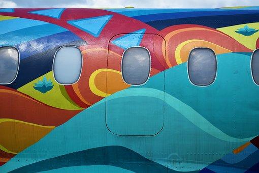 Airplane, Aircraft, Exhibit, Monument
