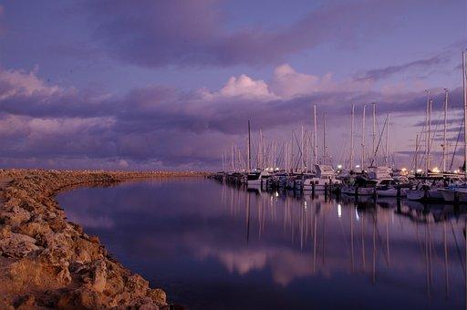 Moorings, Boats, Yachts, Anchor, Nautical, Marina, Sea