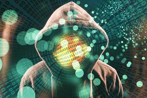 Hacker, Hood, Attack, Internet, Anonymous, Binary