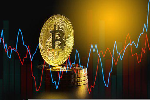 Bitcoin, Coins, Chart