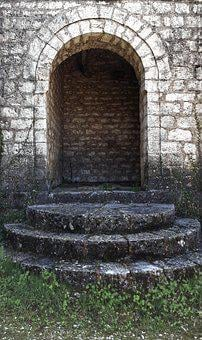 Arch, Gate, Portal, Archway, Castle, Architecture, Old