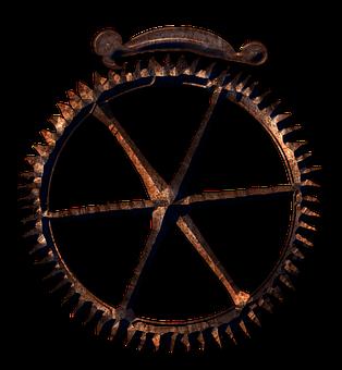 Gear, Clockwork, Parts, Mechanical, Steampunk, Metal