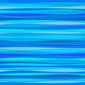 Blue, Stripes, Wallpaper, Ocean, Waves, Curves, Pattern
