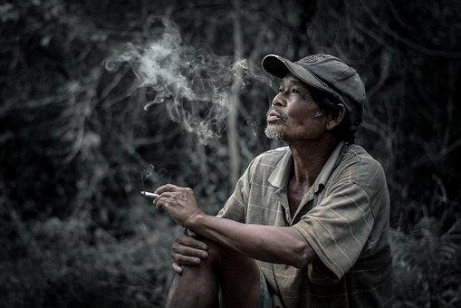 Man, Smoking, Cigarette, Smoke, Adult, Lifestyle