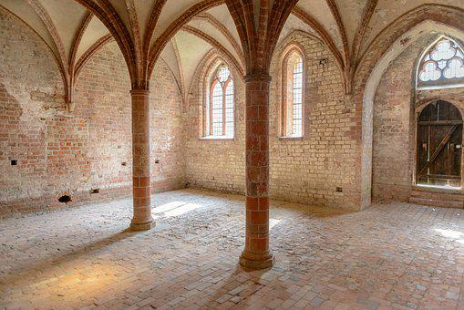 Monastery, Church, Religion, Architecture, Middle Ages