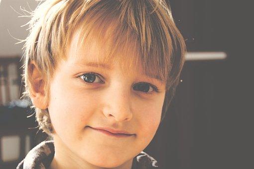 Boy, Child, Portrait, Happy, Smile, Face, Kid, Young
