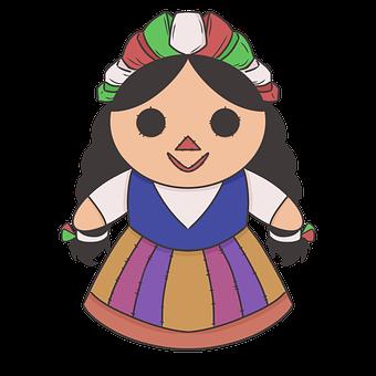 Mexican Doll, Rag Doll, Maria Doll, Mexico