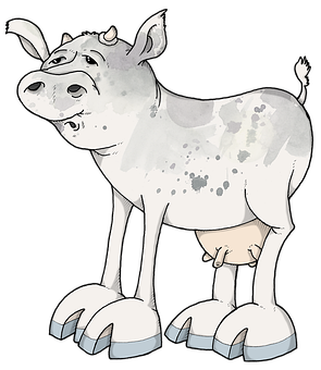 Cow, Ruminant, Farm, Horns, Cattle, Pasture, Animal
