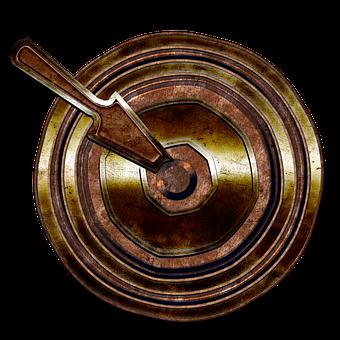 Lever, Metal, Mechanism, Machine, Switch, Rust, Brass