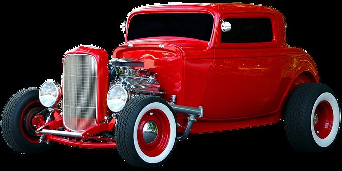 Car, Hot Rod, Vintage, Vehicle, Old, Retro, Classic