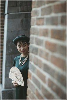 Woman, Ao Dai, Model, Fashion
