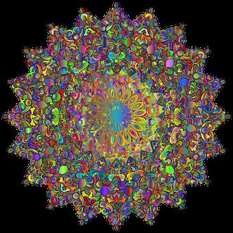 Mandala, Decor, Line Art, Decorative, Decoration