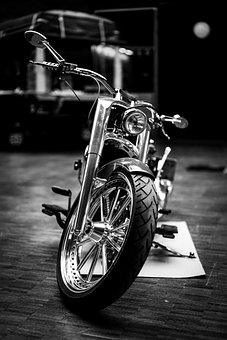Motorcycle, Motorrad, Harley Davidson, Motorbike