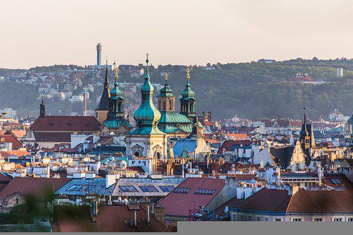 City, Buildings, Prague, Roofs, Old Town, Historic