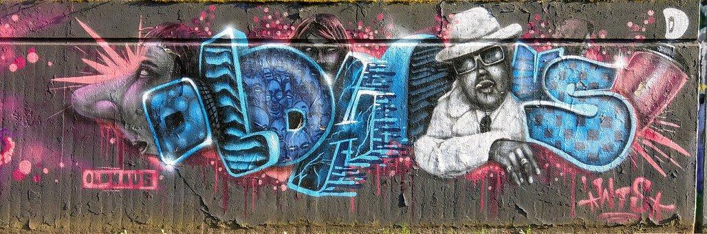 Graffiti, Wall, Street Art, Mural, Spray, Art