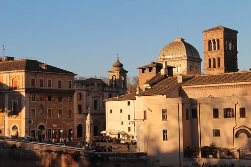 Rome, City, Buildings, Church, Old Town, Old Buildings