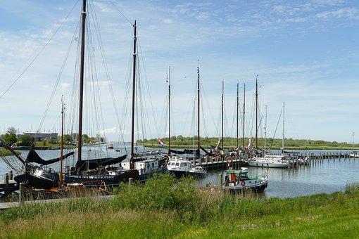 Port, Sailing Boat, Boat, Ship, Sailing, Marina