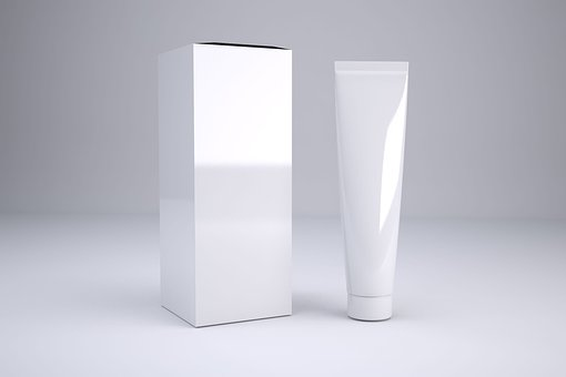 Cosmetics, Tube, Packaging, Mockup, Lotion, Shampoo