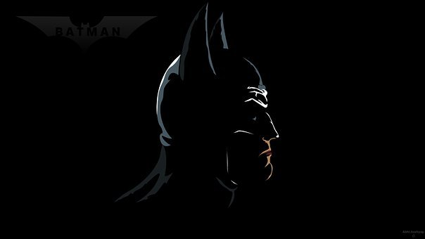 Batman, Superhero, Portrait, Profile
