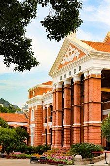 Xinhai Revolution Memorial Hall, Building, Facade, Park