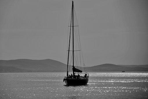 Boat, Sailing, Sea, Sailing Boat, Sailboat, Sail
