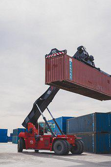 Crane, Cargo, Logistics, Container, Shipping Container