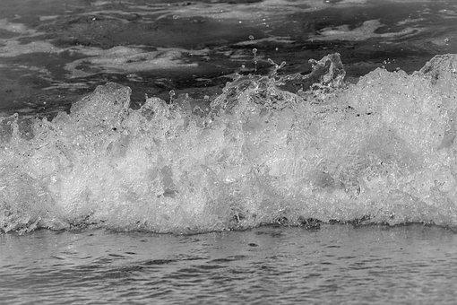 Wave, Sea, Water, Splash, Ocean, Nature, Mediterranean