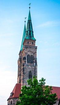 Church, Building, Steeple, Cross, Architecture