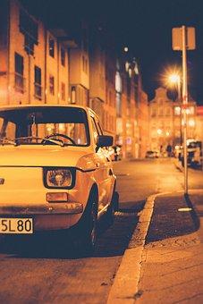 Car, Vehicle, Street, Road, Fiat, Old, Auto, Automotive
