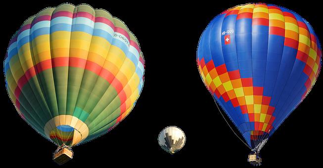 Hot Air Balloons, Balloon Ride, Floating, Flying