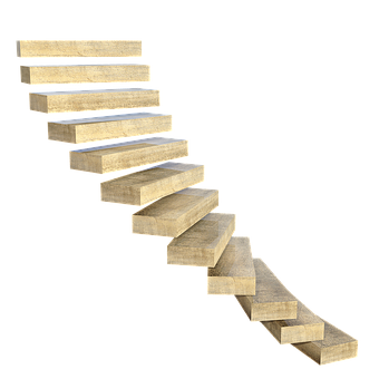 Stairs, Spiral Staircase, Gradually, Steps