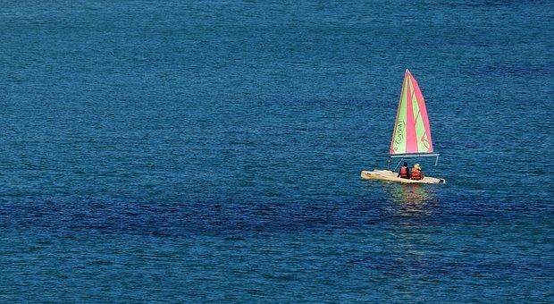 Boat, Sailing, Sea, Ocean, Water, Sail, Sailboat