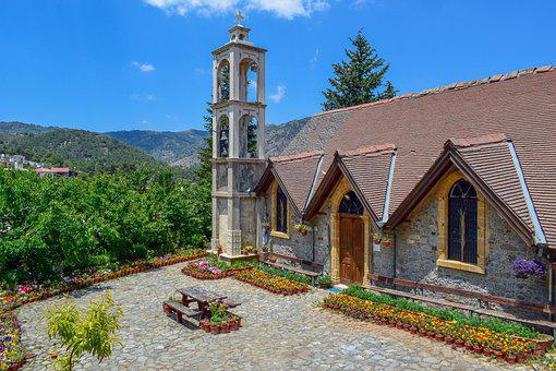 Church, Architecture, Garden, Tower, Bell Tower, Facade