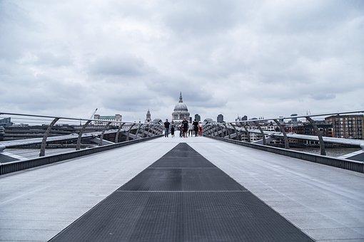 Millennium Bridge, Bridge, City, London, Footbridge