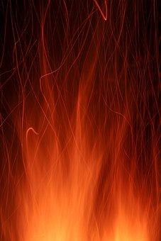 Fire, Flame, Burn, Blaze, Hot, Heat, Burning, Fireplace