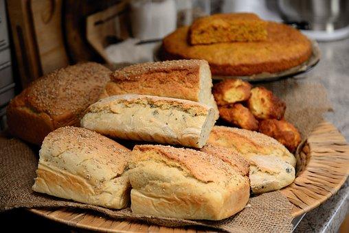 Bread, Baked, Food, Baked Goods, Freshly Baked, Dough