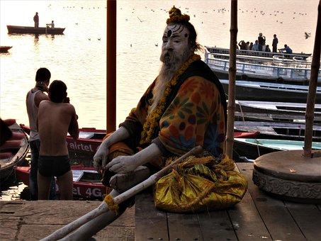 Varanasi, Spirituality, Holy, Faith, India, Religion