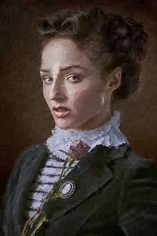 Girl, Beauty, Portrait, Vintage, Woman, Young, Female
