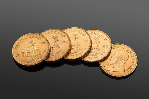 Coins, Money, Currency, Zlataky, Gold, Commemorative