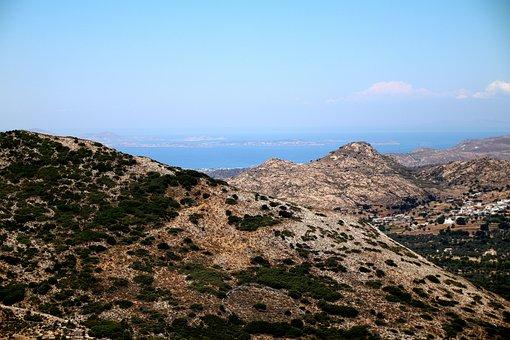 Mountains, Hills, Rocks, Vegetation, Mediterranean