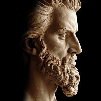 Jesus, Sculpture, Bust, Religion, God, Christ