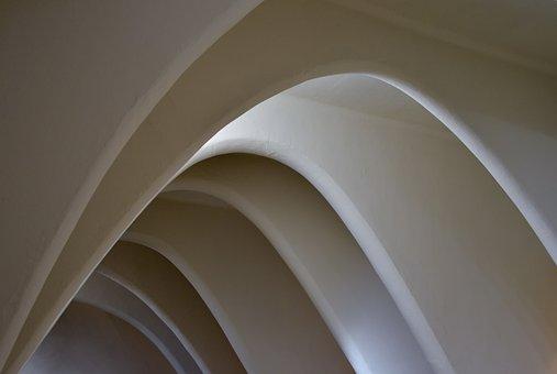 Arches, Modern, Pattern, Futuristic, Architecture
